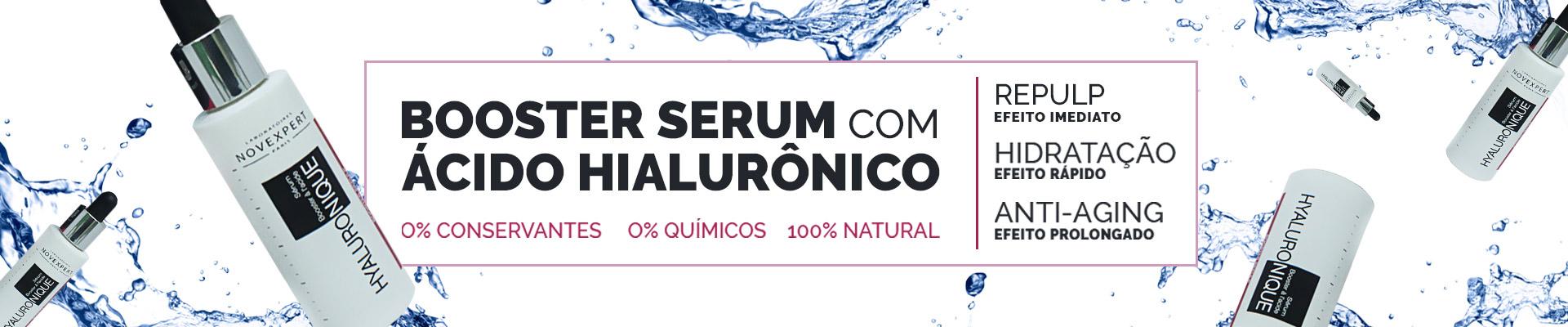 Booster Serum, Ácido Hialurônico, Preenchimento facial, antiaging, anti-aging, antiidade, aiti-idade